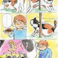 ネコ漫画 なっちゃん