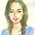 木村多江さんの似顔絵