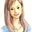 小西真奈美さんの似顔絵